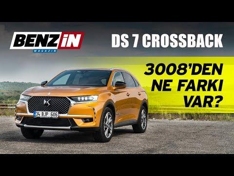 DS 7 Crossback test sürüşü 2018