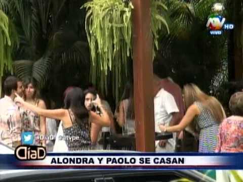 DiaD: ¿Alondra Garcia-Miro y Paolo Guerrero se casan?