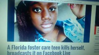 R.I.P.  Nakia  ( 2nd teen to live stream their death in  3 weeks)