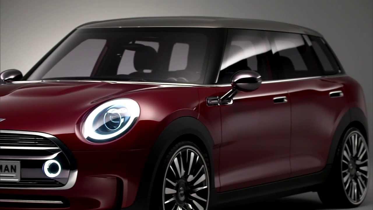mini clubman f54 concept car zum genfer salon 2014 youtube. Black Bedroom Furniture Sets. Home Design Ideas