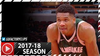 Giannis Antetokounmpo Full Highlights vs Celtics (2017.10.18) - 37 Pts, 13 Reb, MVP MODE!