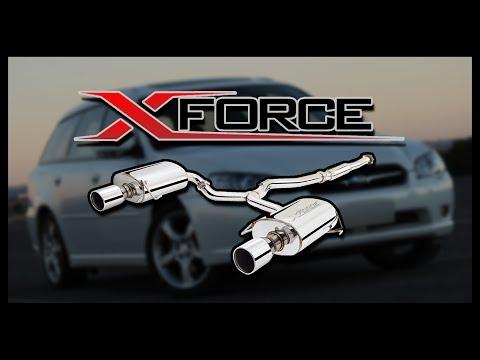 Subaru Liberty - X-Force Mufflers VS X-Force Catback System (Comparison)
