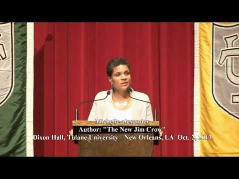 The New Jim Crow, noted author  Michelle Alexander at Tulane University by Reel Talk Media