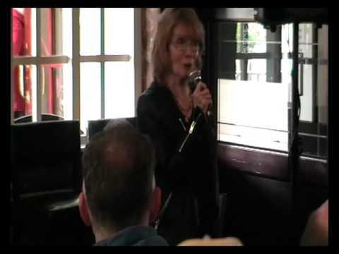 Deborah Watling At Dr Who at the Hilbre 2015