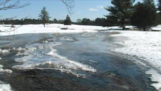Relaxing Nature Scenes - Relaxing sounds of an icy river