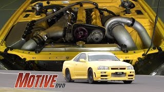 """NITTO"" 1100Horsepower True Street R34 GT-R w/ sequential"