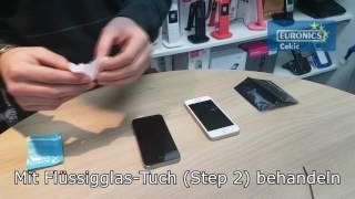 Euronics Cekic flüssiger Displayschutz Hammer-Test