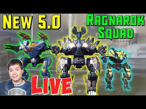 War Robots : New 50 Ragnarok Robots MAXED Mk2 Gameplay WR