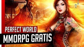 MMORPG GRÁTIS + PRIMEIROS PASSOS - Perfect World