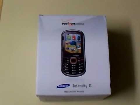 Unboxing - Samsung Intensity II
