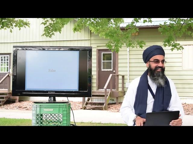 """Bhai Sukhwinder Singh (UK) TSC2018 - """"Basics of SUKHI - Harm Yourself With Knowledge!"""""""