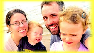 Kids 1st Time At The Beach With Family Fun At Cypremort Point State Park! | Day 2099 - Thefunnyrats
