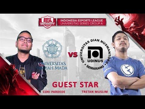 COKI&MUSLIM - UNIV GADJAH MADA vs UNIV DIAN NUSWANTORO @IEL 2019: Univeristy Series (MLBB - DOTA 2)
