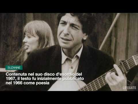 Le 3 più belle canzoni di Leonard Cohen