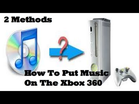 How To Put Music On The Xbox 360 (2 Methods)