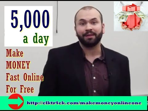 How To Make Money Online Fast And Free 2017 💰  Easy Make $5,000 Per Day