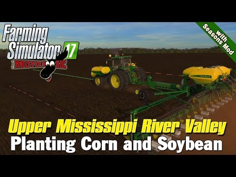 FS 17 | Planting on Upper Mississippi River Valley with Seasons Mod | 11/4 Livestream