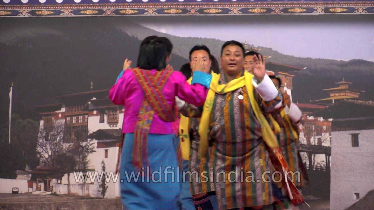Rigsar dance from Bhutan: The Royal Academy of Performing Arts