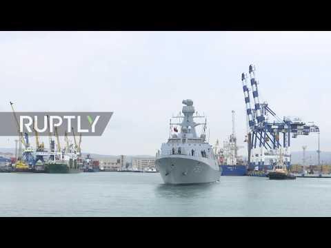 Russia: Turkish vessels enter Novorossiysk for Blue Motherland drills