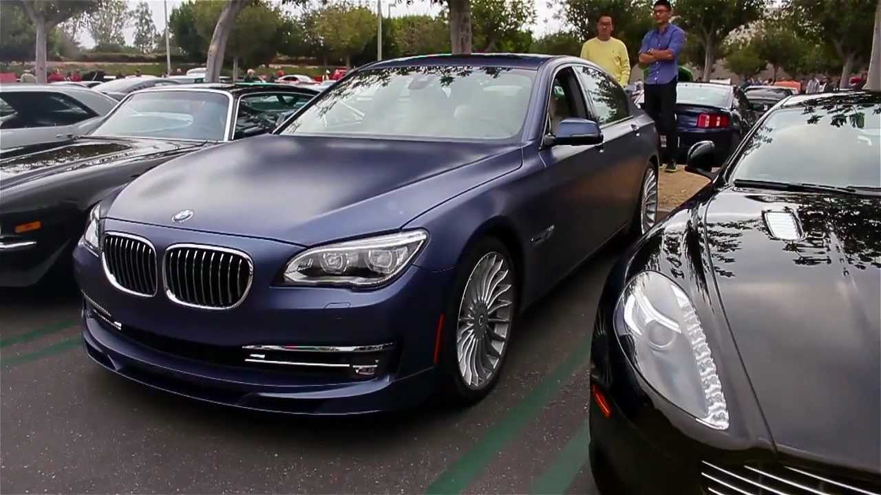 Irvine Bmw >> MATTE PURPLE 2013 Alpina BMW B7 at C&CI, 2013! - YouTube