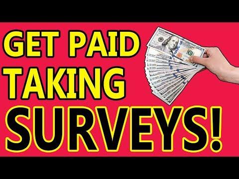 Get Paid To Take Surveys  (WORLDWIDE)