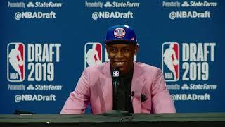 RJ Barrett Press Conference   2019 NBA Draft