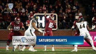 Highlights: No. 8 Washington State football scores touchdown with 32 seconds left to sink California