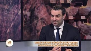 Orbán Viktor: Bűnözők és ügyvédek osztoznak az adófizetők pénzén
