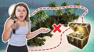 The ULTIMATE $10,000 Treasure Hunt On A Private Island **CHALLENGE**🔎🏝 | Piper Rockelle
