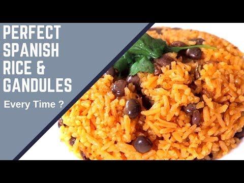 Moro De Guandules Dominicano   Rice & Peas   Spanish Rice - Kelvin's Kitchen