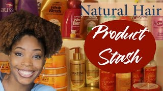 I'm Officially a Product Junkie   My Hair Product Stash (all of my natural hair products!)
