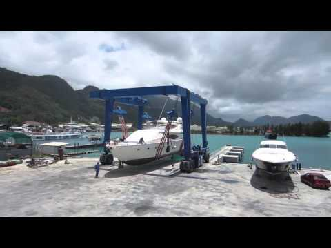 Gondwana Marine Services  (Seychelles) - 150t Travel Lift