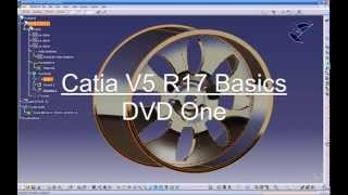 CATIA V5 TRAINING VIDEO 1