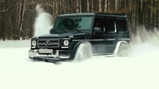 Mercedes Benz G klasse AMG Off road   Test Drive