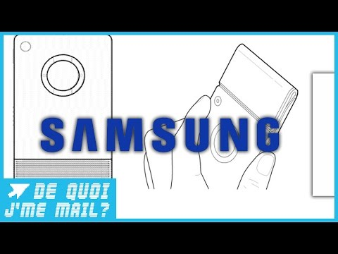 Un projet de smartphone flexible chez Samsung ?  DQJMM (1/3)