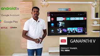TCL P8 4K AI Android TV Series Demo Video