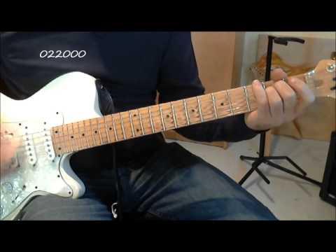 Jingle Bell Rock guitar lesson.