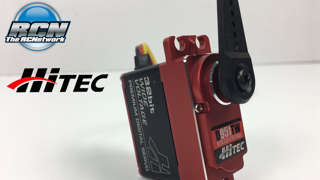 HItec D951TW 486oz/in Full Aluminum Case Servo - Unboxing