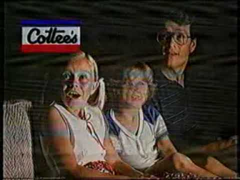 Cottee's Ice Magic commercial from Australian TV 1988