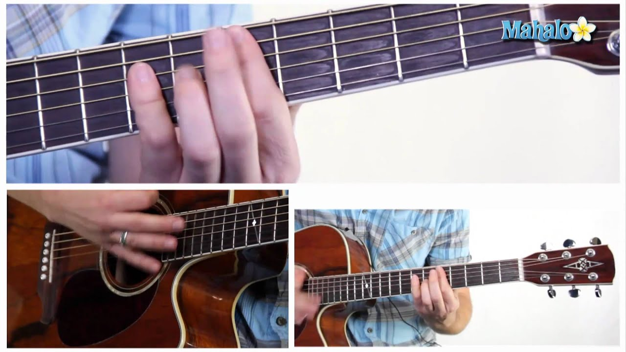 How To Play An A Minor Am Bar Chord On Guitar 5th Fret Youtube