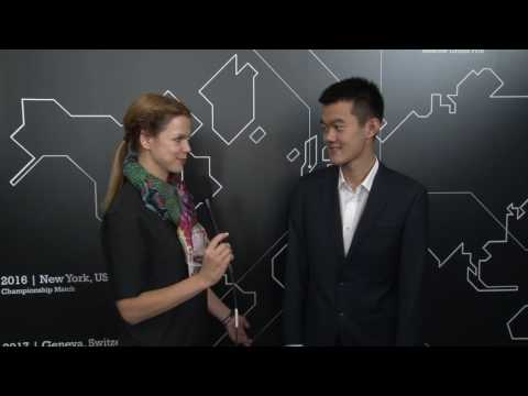 Day 9 Interview with GM Ding Liren