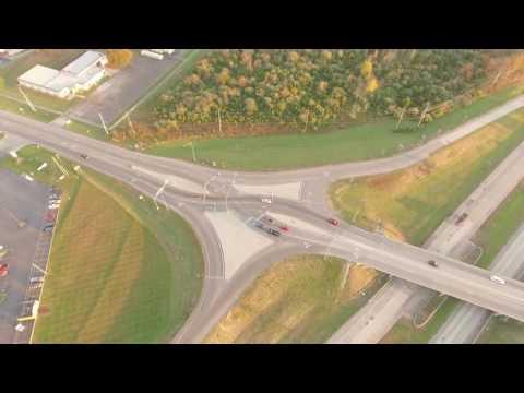 The Crazy Overpass in Farmington Missouri!