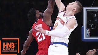 Philadelphia Sixers vs New York Knicks 1st Half Highlights / Week 11 / Dec 25