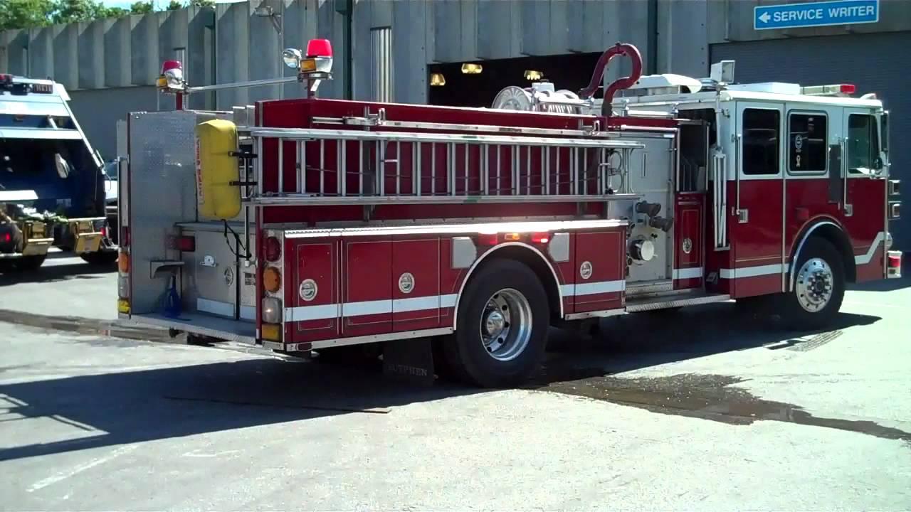 1994 sutphen pumper fire truck 46834 youtube 1994 sutphen pumper fire truck 46834 sciox Gallery