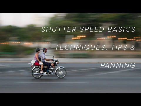 Shutter Speed Basics - Techniques, Tips and Panning