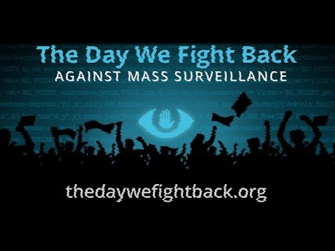 This is What a Police State Looks Like - #TheDayWeFightBack