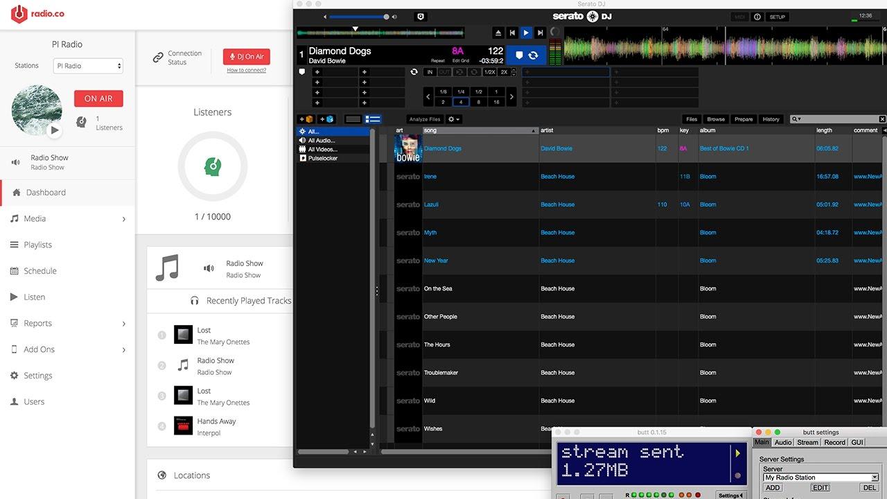 Serato DJ Online Radio Broadcast Setup