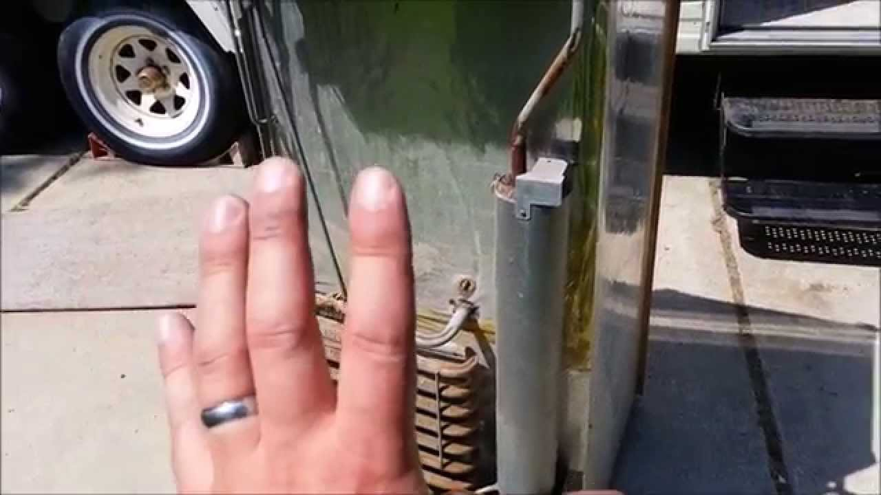 Rv Fridge Wiring Diagram Nissan Navara D40 Removing An Rv/ Travel Trailer Refrigerator - Youtube