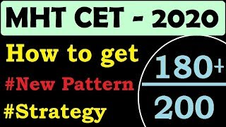 MHT CET 2018 STRATEGY How to CRACK in 7 Days