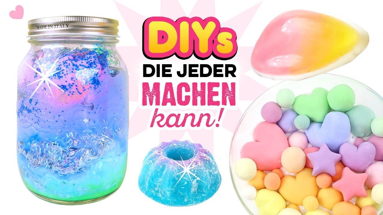 Bastelideen Mit Schachlich: VIRALE BASTELIDEEN!!! Duschjelly, Kneten Slime, Ombre